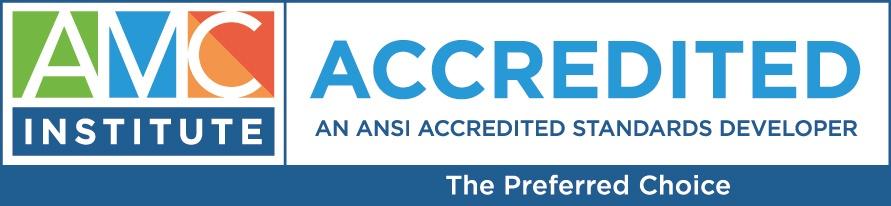 AMC Institute Accredited Logo
