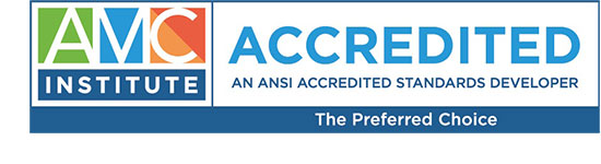 AMC Institute Accredited Logo